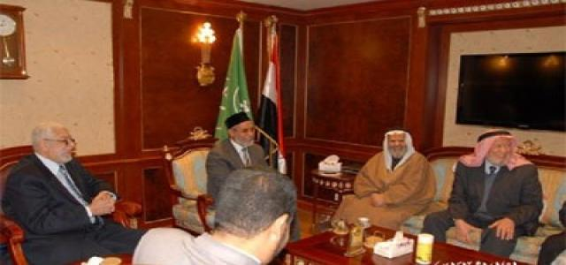Jordanian Delegation Visits MB Chairman