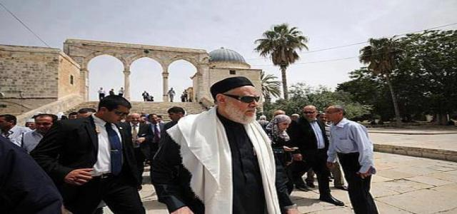 Freedom and Justice Party: Grand Mufti Jerusalem Visit Serious Mistake