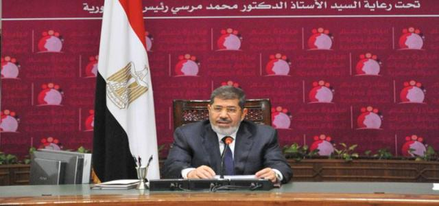 PRESS RELEASE: Where is President Morsi?