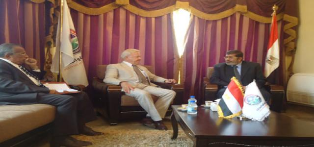FJP Leader Meets With Denmark's Ambassador