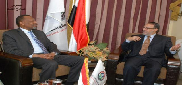 FJP Receives Nigerian Ambassador to Cairo, Stresses Vital Relations With Africa