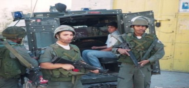 IOF troops round up six Palestinian citizens, 46 workers