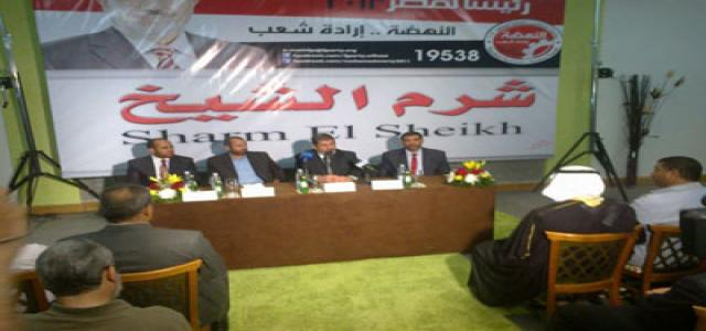 Dr. Morsi Assures Tourism Has Priority in Nahda Project
