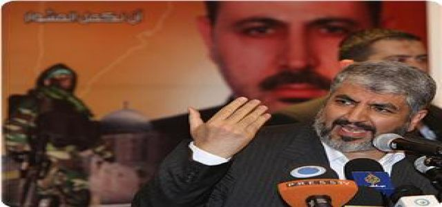 Mashaal calls for sincerely hosting meeting for Palestinian rivals in Cairo