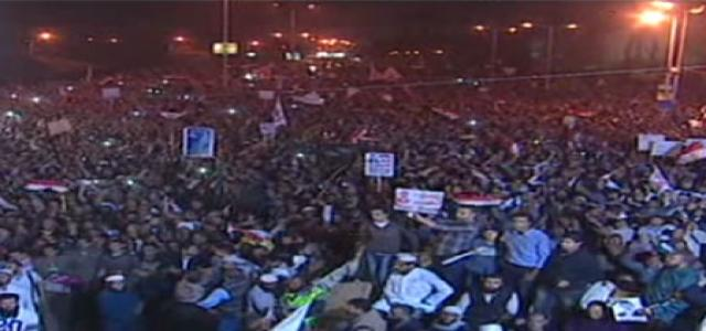 Islamists Organize Two Peaceful Million-Man Marches and Rallies to Support Legitimacy in Egypt