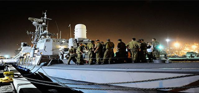 IOF paints over Marmara ship to hide traces of assault