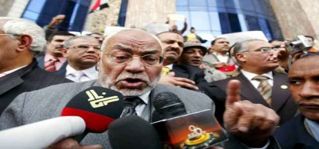 Akef: Reform in Egypt is inevitable and the eternal rule is unacceptable.