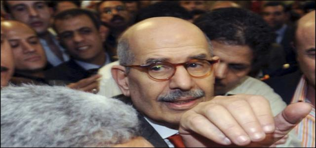 For the First Time El-Baradei Harrassed at Cairo Airport