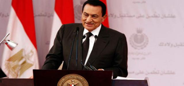 Mubarak sidelines presidential succession issue and opposition's reform demands