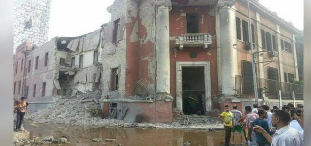 Freedom and Justice Party Condemns Bombing Outside Italian Consulate in Cairo