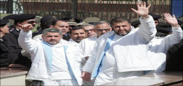 Three MB leaders convicted in military court released, el Shater and Malek remain