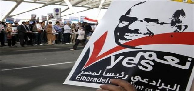 Egypt's ElBaradei goes street, Facebook, but will it work?
