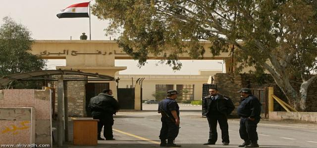 Israel Concerned Over Opening of Rafah Crossing
