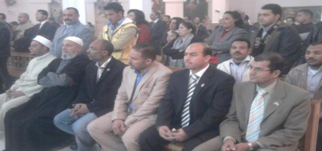FJP and MB Delegation Visits Catholic Church in Hurghada, Extends Christmas Wishes