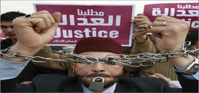 Arrest of 11 leading Muslim Brotherhood figures  in Sharqia.