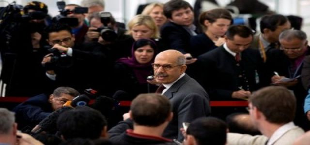 Crowd greets ElBaradei as hero during tour out of Cairo