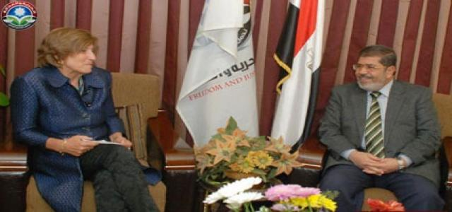 Dr. Morsi, Dutch Ambassador in Cairo: Egypt Deserves Urgent International Economic Aid