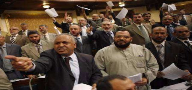 MB MPs excellent performance in the Egyptian Parliament
