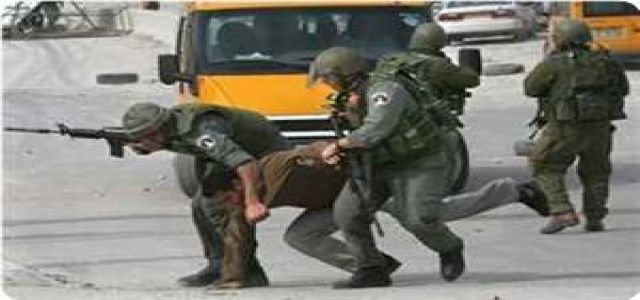 IOF disguised soldiers break foot of Palestinian teen