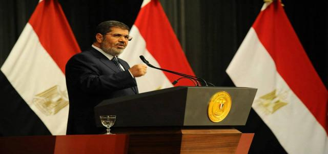 Excerpts from Egyptian President Morsi Wednesday 26 June Speech