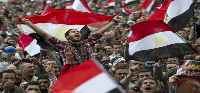 Azmy Beshara Speaks at Cairo University Conference Discussing Impact of Egypt's Revolution