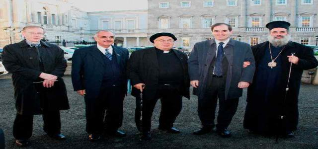 No such thing as justice in the Holy Land, Palestinian Church leaders tell the Irish