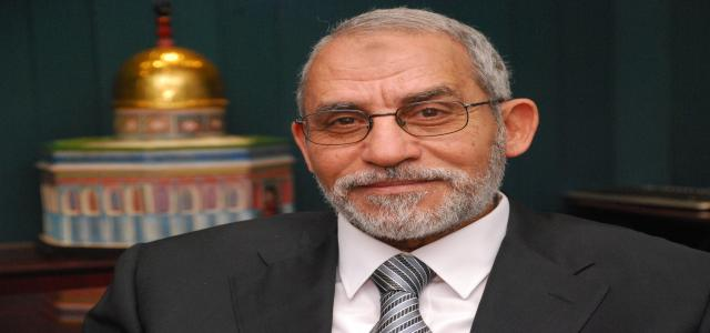 Muslim Brotherhood Chairman Badie Receives French Ambassador