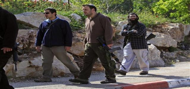 Jewish settler attack two little girls and an elderly woman south of Bethlehem