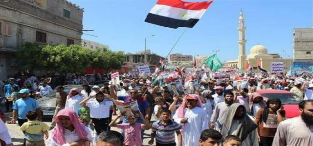 Pro-Democracy National Alliance in North Sinai Calls Peaceful Revolutionary Protests