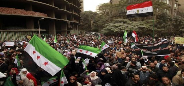 Freedom and Justice Party Presses Egypt to Submit Draft UN Resolution to Stop Bashar Massacres against Syrian People