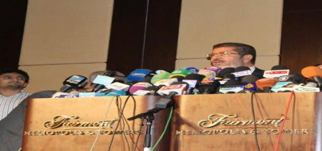 Morsi and National Accord Front Vow to Keep Revolution Peaceful; Maintain Freedoms and Democracy