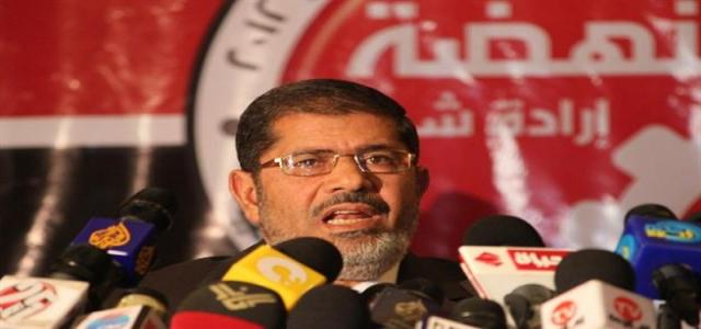 At First Public Rally in Beheira, Morsi Urges Egyptians to Protect Revolution