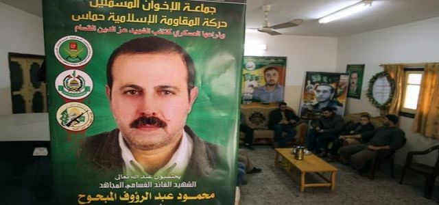 Hamas: Mabhouh was assassinated by the IOF