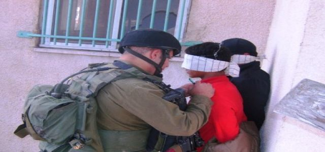 Israeli troops and officers raid homes of Hamas members in Jenin