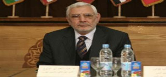 Abul-Fotouh Affirms: Our Demands for Reform Will Continue