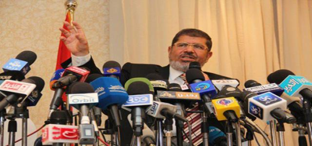 Dr. Morsi Lashes out at Scarecrow Tactics Used by Shafiq's Campaign