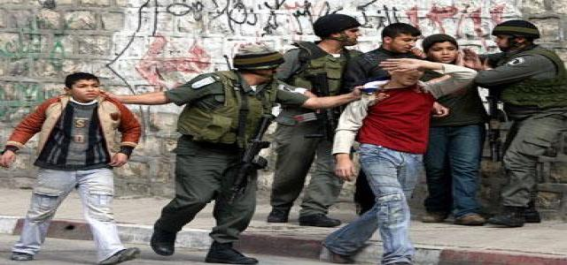 Israeli Soldiers Sexually Abuse Palestinian Children