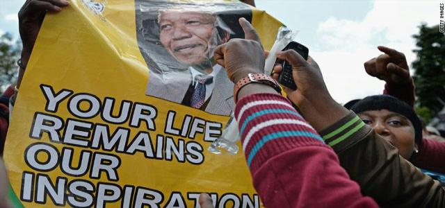 Press Release : Alliance Mourns the Death of Mr. Nelson Mandela by an Official Delegation Representing the Egyptian People