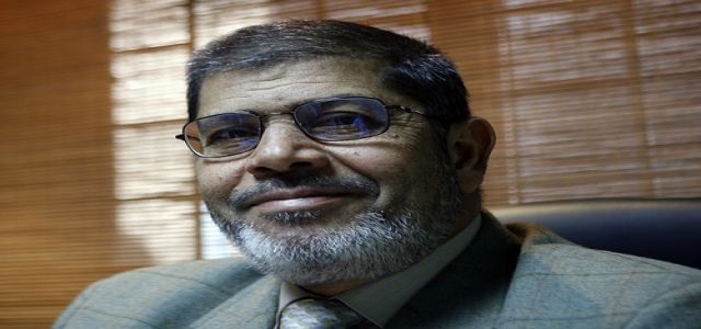 Morsy warns leaders not to be misled by Netanyahu the unwelcome Zionist.