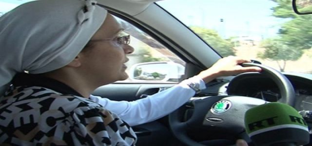 In Egypt, female taxi drivers for women only