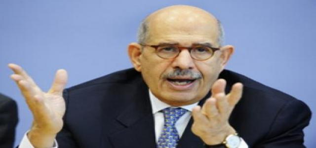 El-Baradei Downplays Significance of Upcoming Presidential Elections