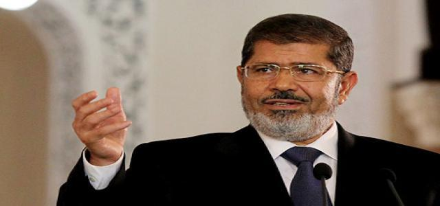 Morsi: Corruption Will Never Again Prevail in Egypt