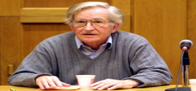 International condemnation for barring Chomsky from entering WB