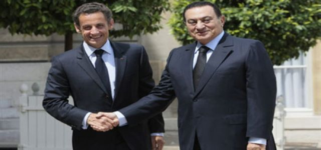 French President calls off trip to Egypt due to Mubarak's health