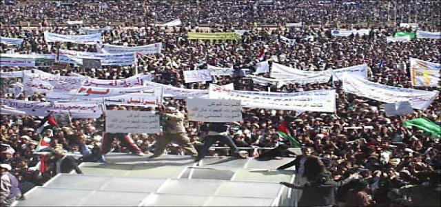 Massive Protests In Arab Countries Against Israeli Aggression