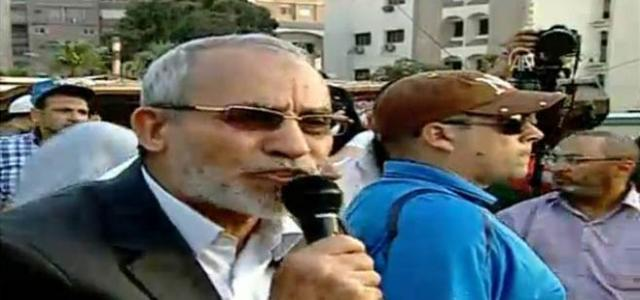 Muslim Brotherhood: Will Continue Protests Until President Morsi Reinstated