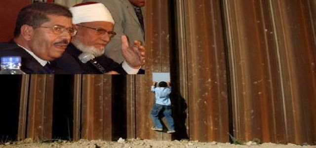 Morsy: Neither the killing of our Egyptian soldier nor the construction of the Steel Wall is acceptable.