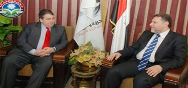 German Social Democratic Party Chairman Pledges Economic, Industrial and Tourism Support for Egypt