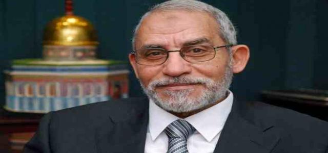 Muslim Brotherhood Leader Badie Reiterates: Group Denounces Violence