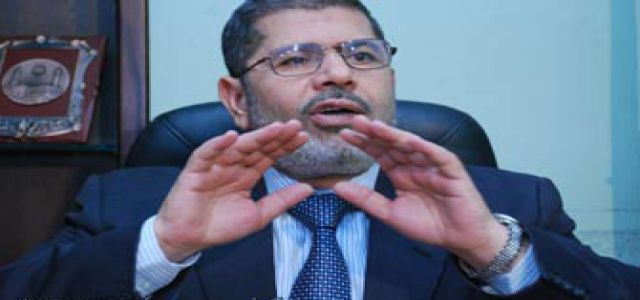 Morsy commends MB chairman's call for dialogue with political parties and opposition leaders